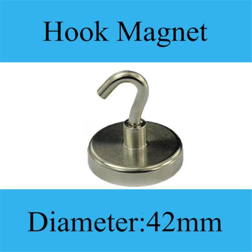 16//20//25//32 42mm Stark Magnet Haken Aufhänger Leistungsstarke Neodym Heim Wand