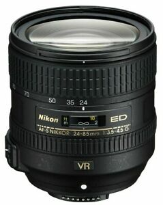 Nikon-AF-S-NIKKOR-24-85-mm-f-3-5-4-5G-ED-VR-Perfetto-Come-Nuovo-AAAAAA