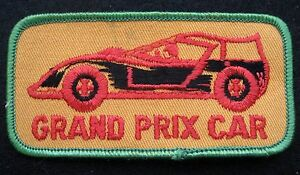 GRAND-PRIX-CAR-EMBROIDERED-SEW-ON-ONLY-PATCH-RACE-RACING-UNIFORM-BADGE-4-034-x-2-034