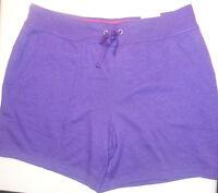 Ladies Xersion Performance Wear Purple Lounge Workout Shorts Sizes S, M, L