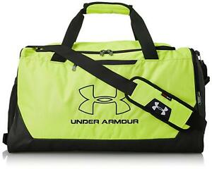 d0fc69b1eb12 NEW NWT UNDER ARMOUR MEN  WOMEN GREEN STORM HUSTLE R SMALL DUFFLE ...