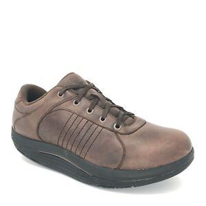 Men-039-s-Abeo-Baylor-Rocker-Bottom-Comfort-Walking-Shoes-Size-11-5-M-Brown