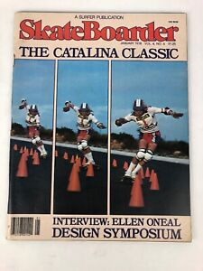 SKATEBOARDER-magazine-January-1978-BOBBY-PIERCY-Alva-Dogtown-VGC