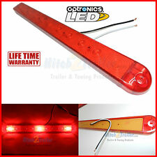 Led ultra thin line identification light bar mcl 70rb 1 led id bar light red 3 diode trailer submersible marine optronics waterproof mozeypictures Choice Image