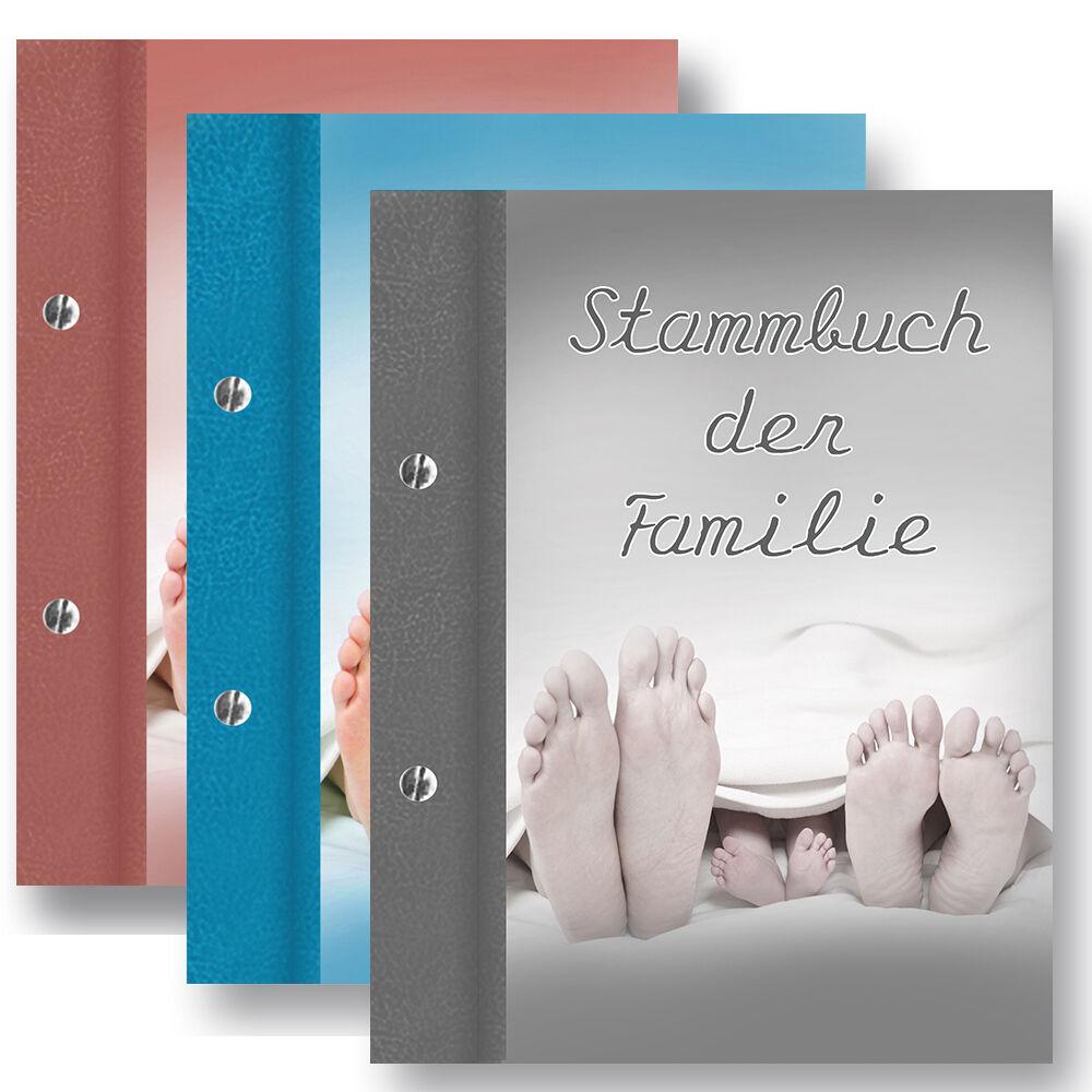 Stammbuch Family Familienstammbuch Stammbuch der Familie Hochzeitsdokumente | Großartig  | Economy  | Clever und praktisch