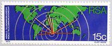 RSA SÜDAFRIKA SOUTH AFRICA 1973 427 X Weltfernmeldetag Funkwelle Karte Map MNH