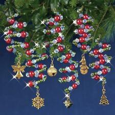 Nostalgic Christmas Beaded Crystal Ornament Kit Ruby /& Gold Baroq 845227050731