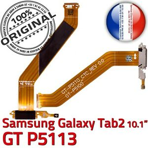 ORIGINAL-Samsung-Galaxy-TAB-2-P5113-Connecteur-Charge-MicroUSB-Nappe-Microphone