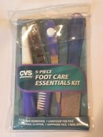 Cvs 5-piece Foot Care Essentials Kit