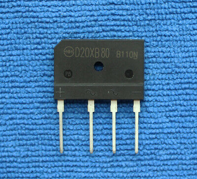 4PCS NEW SHINDENG D20XB80 DIP-4,General Purpose Rectifiers