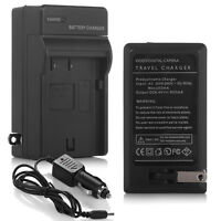 Battery Charger With Car Adapter Charger For Pentax D-li90 D-bc92 K-bc92