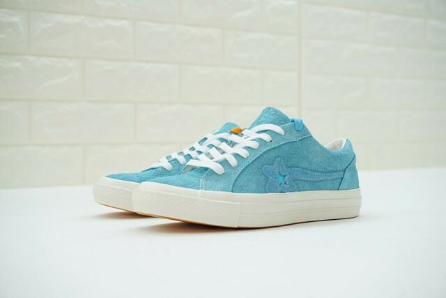 designer fashion new specials shop best sellers CONVERSE ONE STAR X GOLF WANG LE FLEUR SUEDE Bachelor Blue Tyler The  Creator Sky