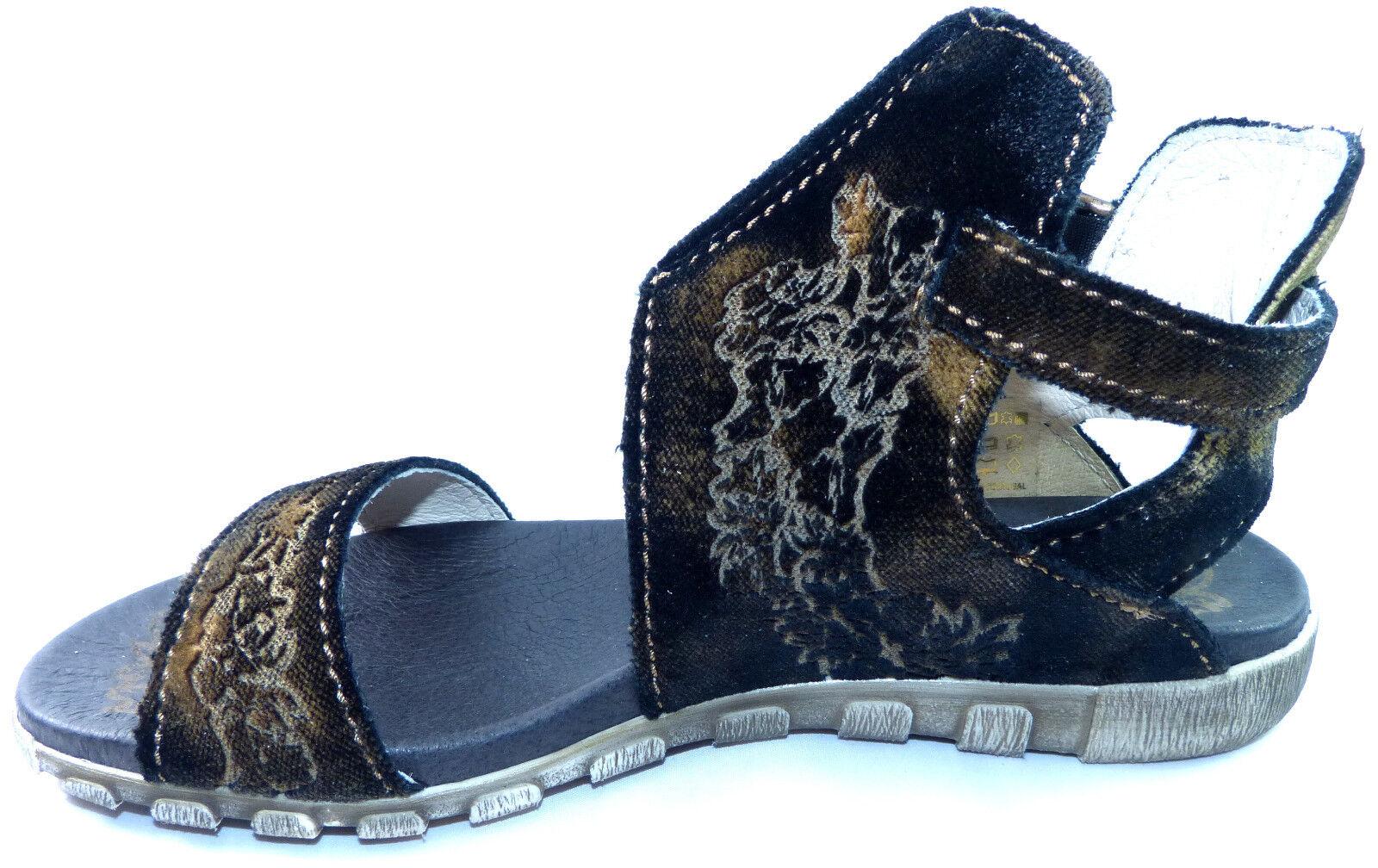 Rovers Sandalette 39 Gr. 39 Sandalette schwarz samt Stiefel Stiefelette Leder neu 583833