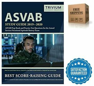 Details about ASVAB Prep Book Practice Test Questions Study Guide Military  Paperback 2019-2020