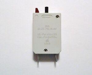 ETA Circuit Breaker 15A Push Button Reset