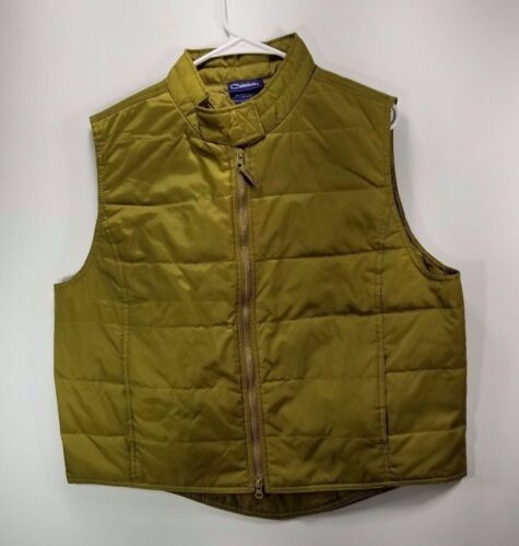 Catalina Women's Bronze Nylon Size XL Puffer Vest