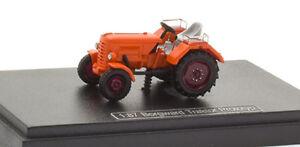 NPE-H0-NA-99074-Borgward-Trattore-Prototipo-arancione-III-Epoca