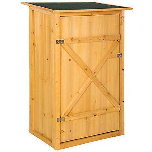 Armadio da esterno in legno casetta per gli attrezzi officina ...