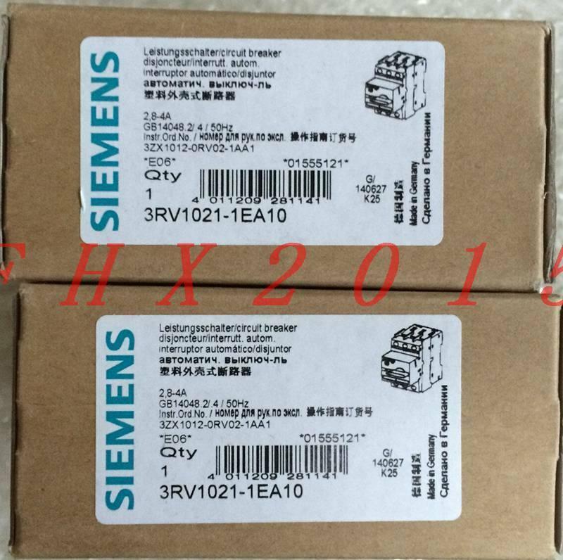 Brand NEW ONE Siemens motor predection circuit breaker 3RV1021-1EA10