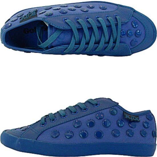 Jc de castelbajac shoes bluee lady lezard
