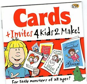 CARDS AND INVITES  4 Kids 2 Make  New  Win 95 98 XP  7 8 10 see listing - Romford, Essex, United Kingdom - CARDS AND INVITES  4 Kids 2 Make  New  Win 95 98 XP  7 8 10 see listing - Romford, Essex, United Kingdom