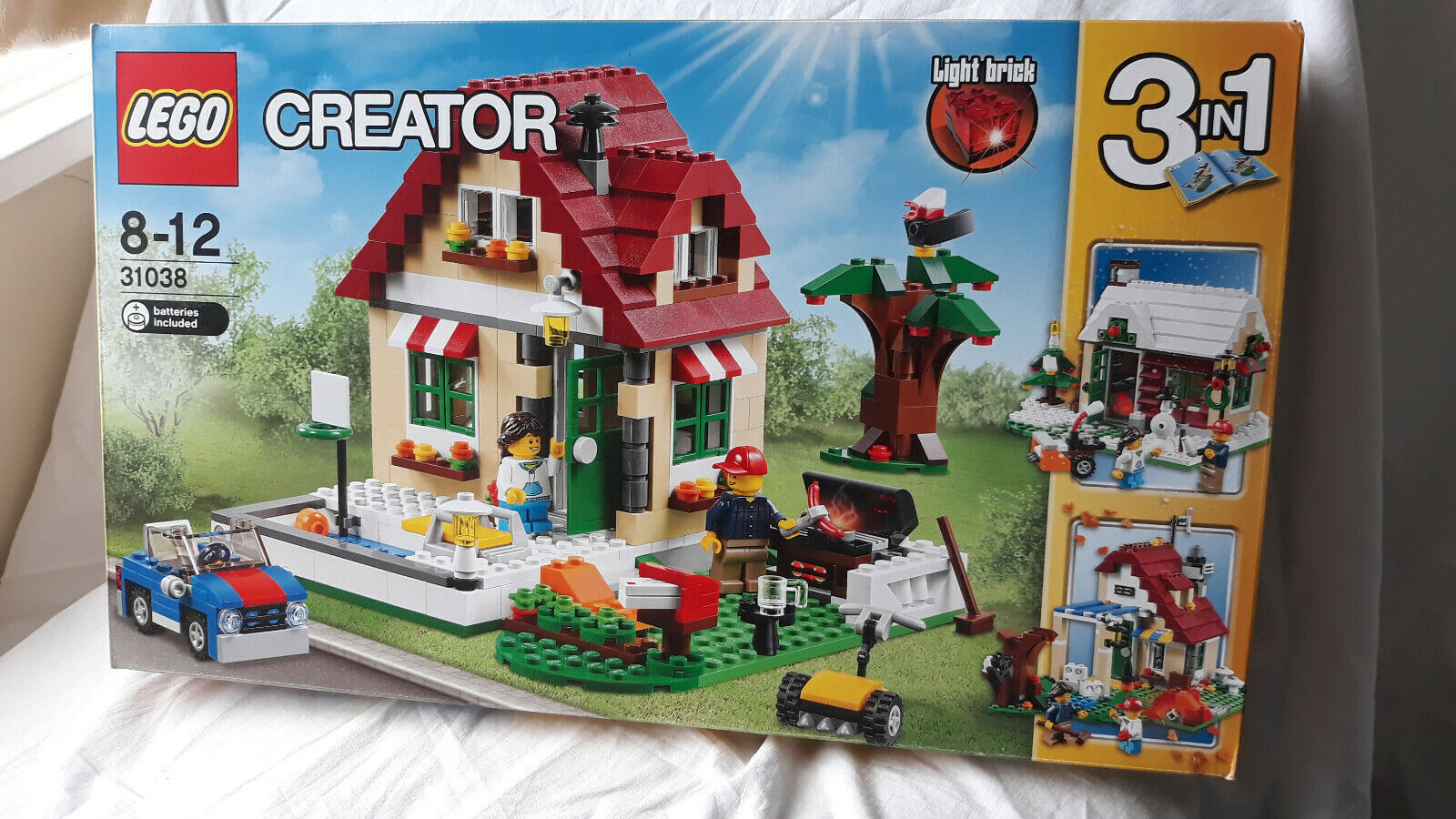 NEW Lego 31038 Changing Seasons House - Creator 3 in 1 - BNIB