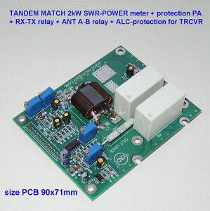 Details about TANDEM MATCH 2kW SWR POWER meter protection RX-TX ANT A-B  LDMOS MOSFET BLF188XR