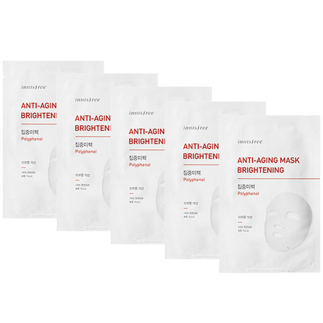 Innisfree Anti-Aging Mask #Brightening 5pcs
