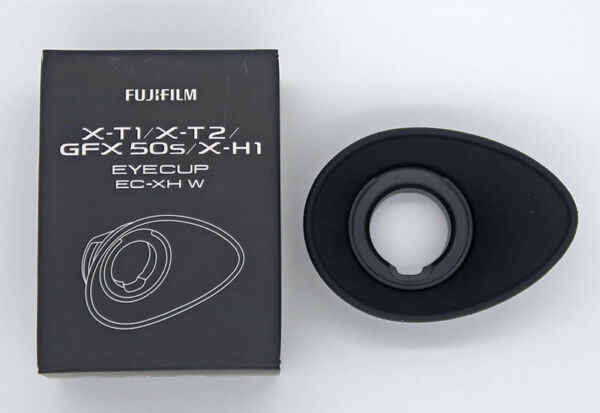Fuji Ec-xh W L Oeilleton Large Pour X-t1,x-t2, Gfx 50s, H-h1 Handicap Structurel
