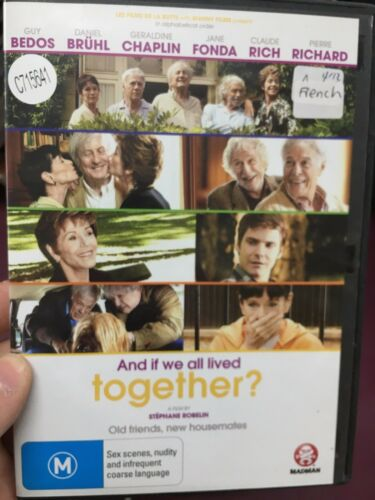 1 of 1 - And If We All Lived Together ex-rental region 4 DVD (2011 French movie)