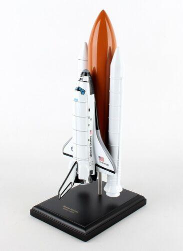 NASA Space Shuttle Challenger Orbiter Full Stack Desk Top Display 1//200 ES Model