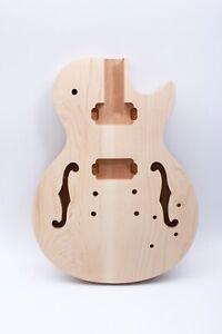 Mahogany-guitar-body-Semi-hollow-Guitar-DIY-Electric-Guitar-Body-Unfinished-US