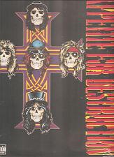 "Guns N Roses ""appetite for Destruction"" VINILE LP 2008 EU SEALED"