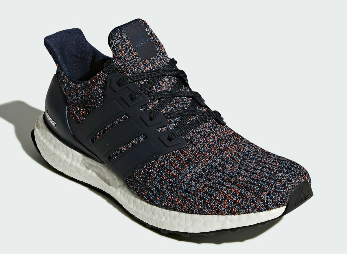 Adidas UltraBoost Men 4.0 Runner Navy Blue Multi-Color New Men UltraBoost Size 7.5-13 (BB6165) 4fbb21