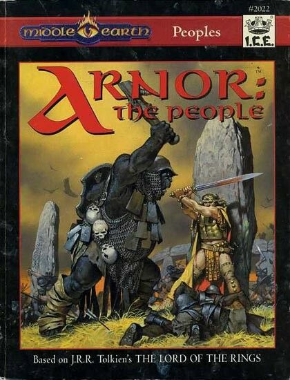personeS ARNOR THE persone  EXC  MERP Middle-Earth J.R.R. Tolkien Module Adventure  acquista online