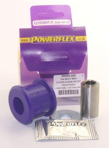 BUSHES 06- POWERFLEX FRONT ENGINE MOUNT-FRONT UPPER SMALL 3C VW Passat B6