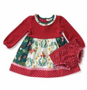 Bloomers Halloween Baby NWT Matilda Jane UNDER MY SPELL Dress 12-18 Months