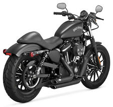Vance & Hines Shortshots Staggered Black Exhaust 2014-2016 Harley XL1200X