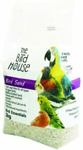 HAPPYPET-2KG-BIRD-SAND-WITH-OYSTER-SHELL-BUDGIE-PARROT-CAGE-LITTER-21061S