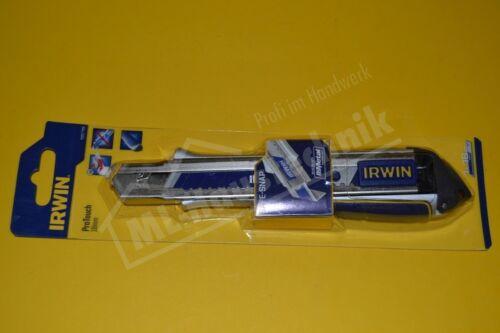 Irwin Abbrechmesser 18mm mit Pro Touch Stahlausführung