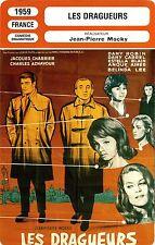 Movie Card. Fiche Cinéma. Les dragueurs (France) Jean-Pierre Mocky 1959
