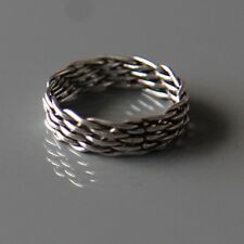 Sterling silver Trinity Ring by Lepos Jewellery