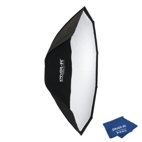 """FOT-R 150cm//60/"""" Octagon Ombrello Riflettore Flash Softbox Bowens panno in microfibra"""