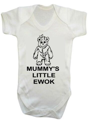 babygrow Bebé Niño Niña Mummys poco Ewok Star Wars Darth Vader traje chaleco