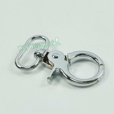 "1 2 5 pcs SWIVEL CLIPS SNAP Hook METAL TRIGGER Webbing bag 3/4"" 20mm O633AA"