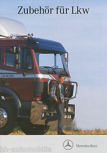 Mercedes-Zubehoer-LKW-Prospekt-3-92-brochure-accessories-trucks-1992-LKWs-Germany