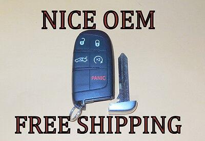 NEW CHRYSLER 300 smart key keyless entry remote fob transmitter 56046759 OEM
