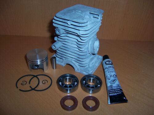 Cilindro del pistón adecuado Stihl 018 ms180 38mm motor sierra motosierra nuevo set 6