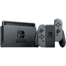 Nintendo Switch Refurbished 32GB Console Gray Joy-Con Factory Warranty Included