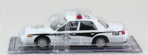 Ford Crown Victoria Polizei USA 2001 Stern Blister 1:43 Altaya Modellauto